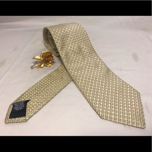 🔆 Boss men's silk tie Made in Italy